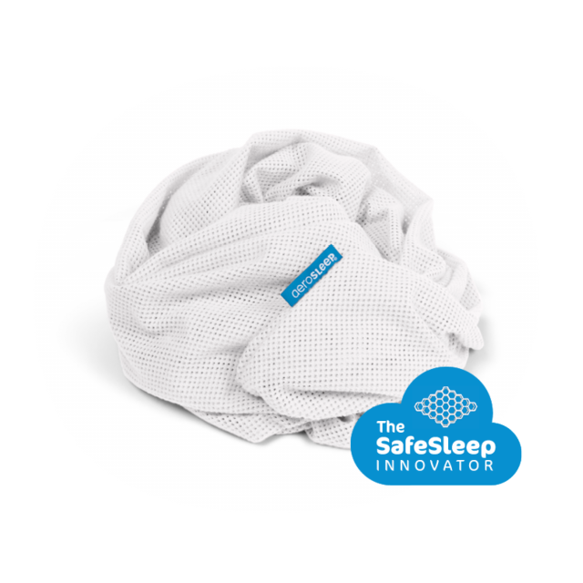 SafeSleep Fitted Sheet White