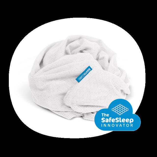 Drap housse SafeSleep - lit - 110 x 60 cm - blanc