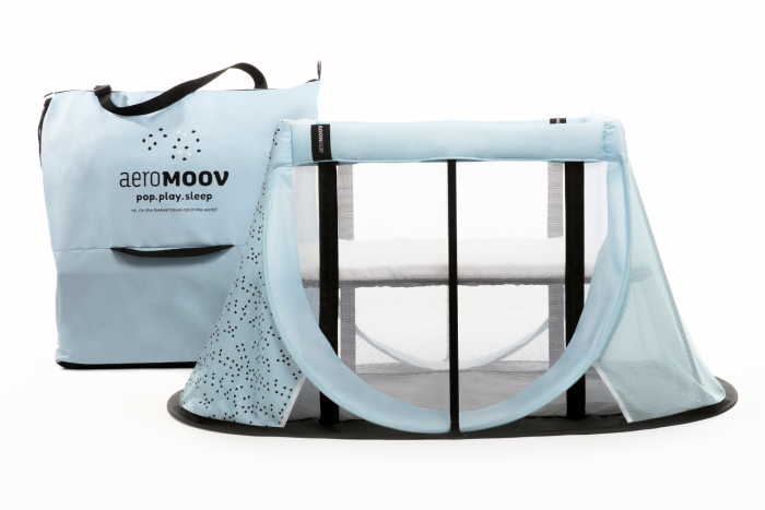 Instant Travel Cot Reisbed Blue Mountain