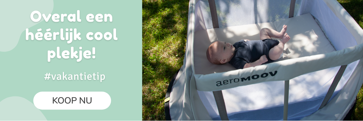 AeroMoov Instant Travel Cot Summer