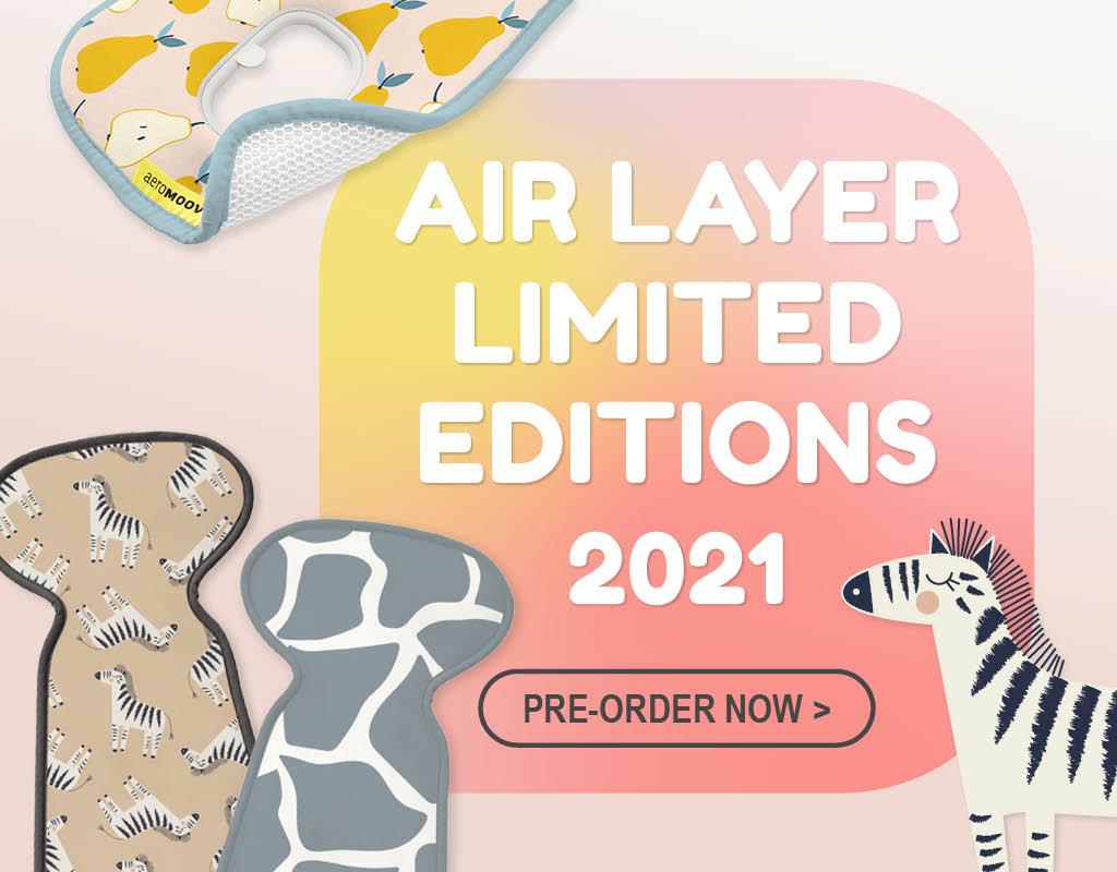AeroMoov Air Layer Limited editions
